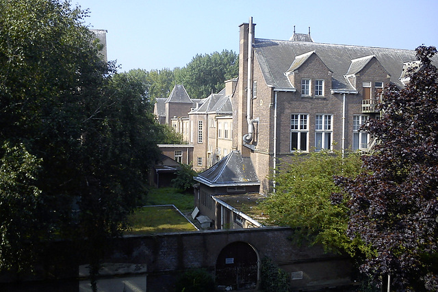 View of the old Pathology lab