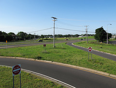 Old memories of looking out across freeway interchanges in the northern suburbs of Minneapolis during hot weather.