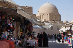 Masjed-e Jameh viewed from ouside