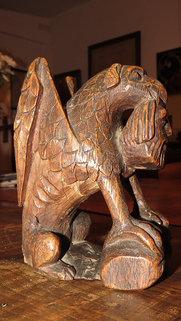 gryphon bench end