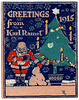 Christmas Greetings from Karl Ramet, 1915