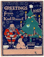 Christmas Greetings from Karl Ramet, 1915