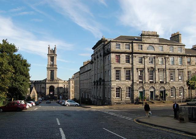 Corner of St Vincent Street and Great King Street, Edinburgh