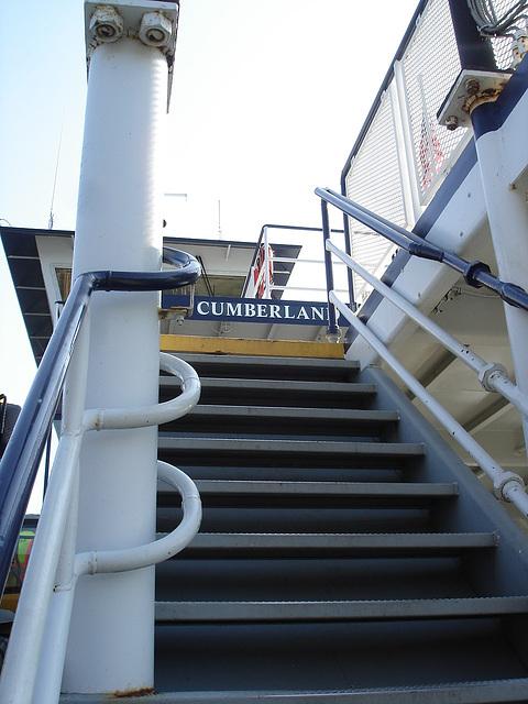 Cumberland stairs / Escaliers cumberlandiennes.