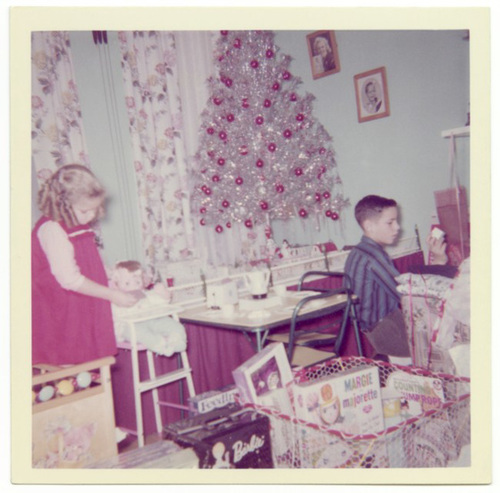 Barbie, Margie, and a Silver Tree for Christmas, 1962