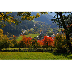 Autumn on the Alps.