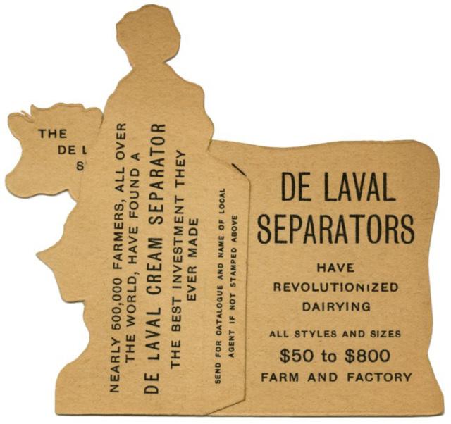 De Laval Separators Have Revolutionized Dairying