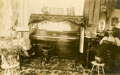Parlor and Sitting Room, Elizabethtown, Pa., March 10, 1912