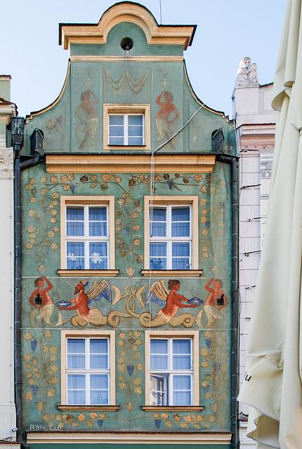 Poznan Stary Rynek / Posen Alter Markt