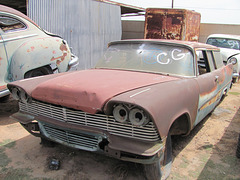 1958 Plymouth Suburban 2 Door Wagon