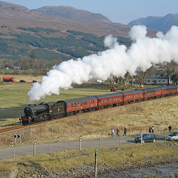 61994 powers away from Strathcarron