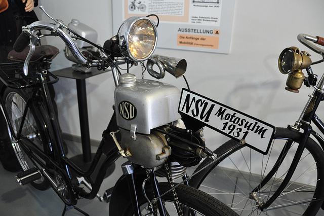 Museum Autovision – NSU Motosulm 1931