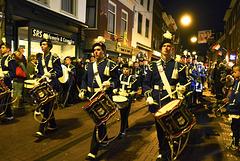 Leidens Ontzet 2013 – Taptoe – Marching band