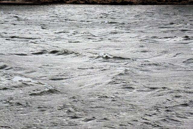6.12.2013 - der Sturm hat das Elbtal erreicht - la ŝtormo atingis la Elbvalon