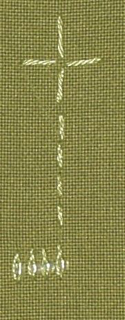 ## 89 and 90 - Twisted Satin Stitch and Twisted Satin Stitch with bead