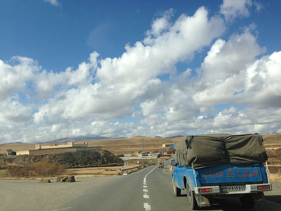 On the way to Mahabad
