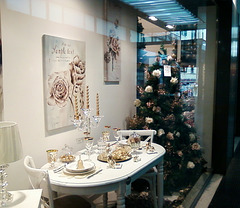 vetrina di Natale