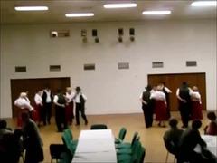 Seniora kantri-dancgrupo dum ĈEA-Konferenco en Nymburk 26.10.2013