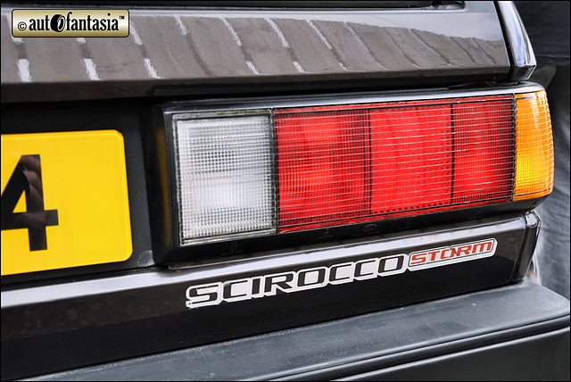1984 VW Scirocco Mk2 Storm - XIA 9754