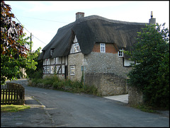 thatched house in South Hinksey