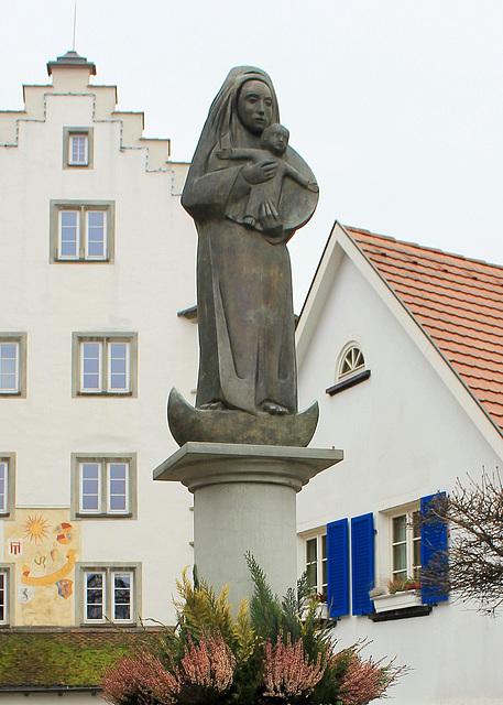 Marienbrunnen-Figur