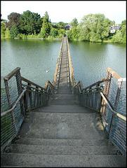 Hinksey footbridge