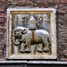 1652 Gable stone of an elephant