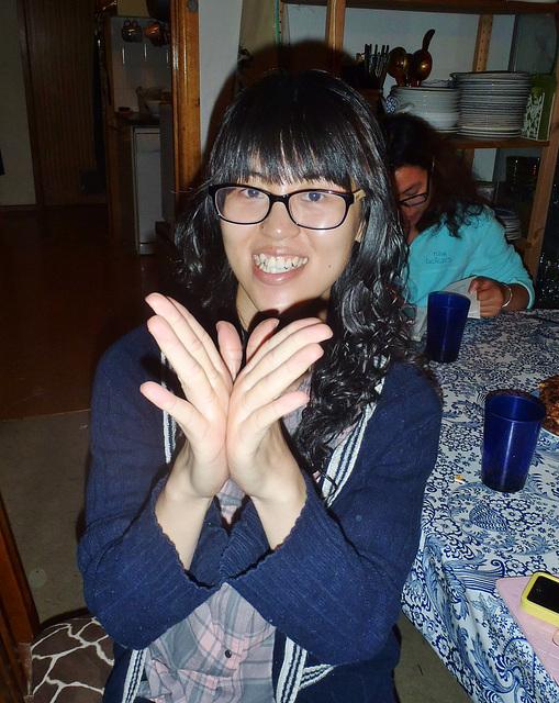 Pegg has THOSE Thai fingers!