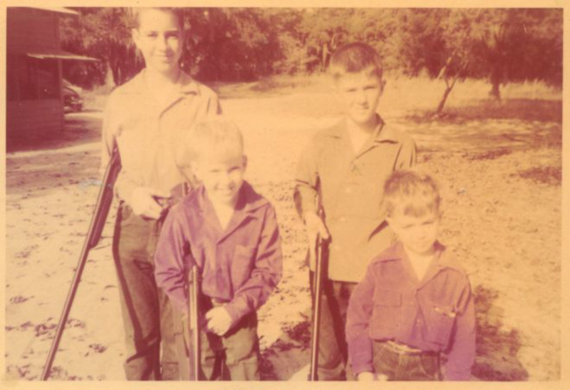 Brothers, 3 with guns