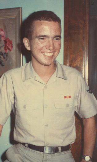 Me, Air Force uniform