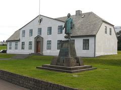 La Maison du gouvernement (Reykjavik, Islande)