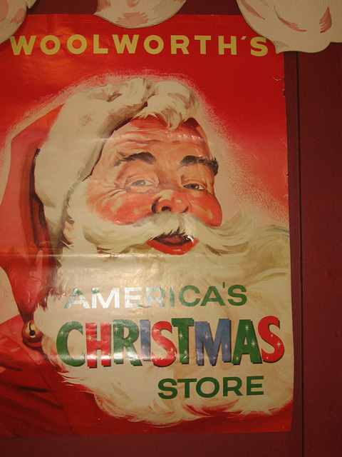 Santa and America's Christmas Store, Woolworth's Store Display at the National Christmas Center