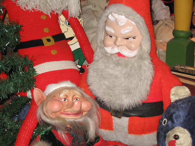 Santa and His Friends at the National Christmas Center