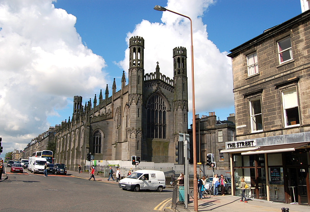 St Paul and St George's Episcopal Church, York Place and Broughton Street, Edinburgh