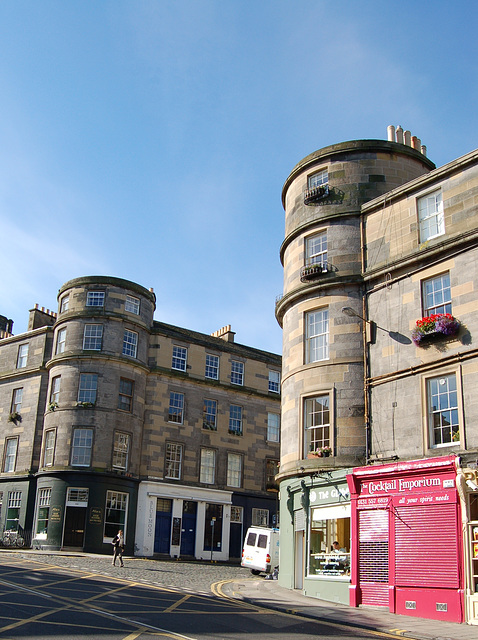 Broughton Street and Barony Street corner, Edinburgh