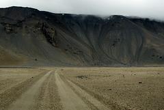 Islande le désert