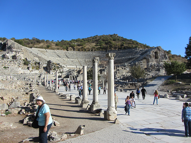 The road to Ephesus.