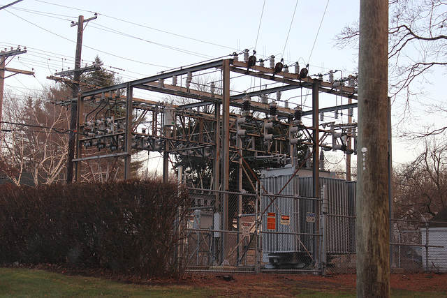 CL&P Brook Street 17F Substation - Bristol, CT