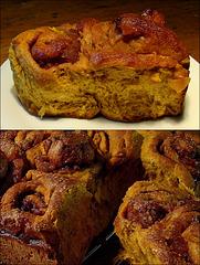 Cinnamon-Swirl Pumpkin Rolls