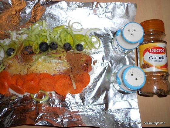 Papillotes de saumon  2