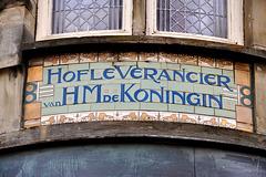 Hofleverancier van H.M. de Koningin