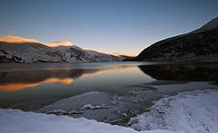 Loch Glass Winter Light, Scottish Highlands