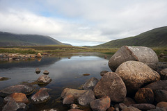 River at Rackwick Bay, Island of Hoy, Okney Isles