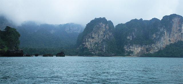 Mist falling at Ao nang