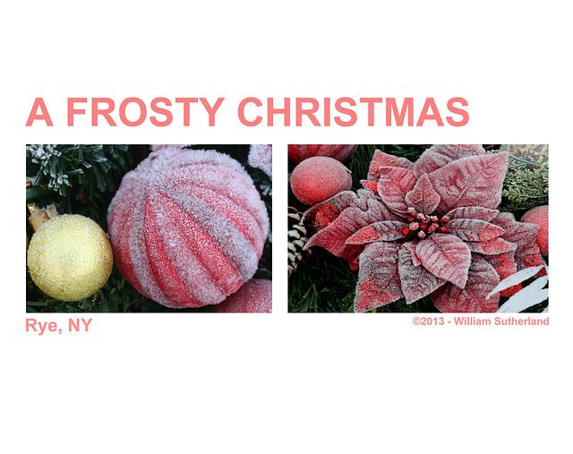 A Frosty Christmas 10x8