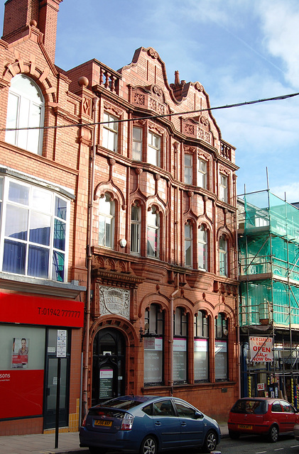 Former Prudential Assurance Building, Library Street,Wigan