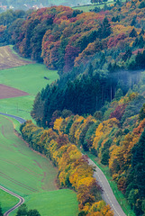 Herbstfarben - The colors of fall (240°)