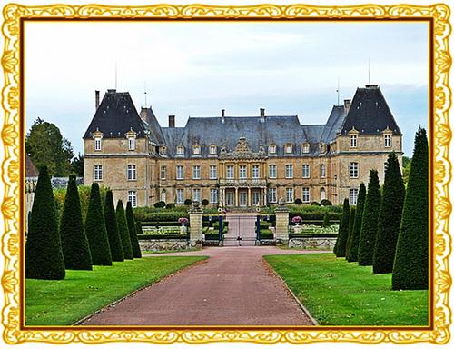 Château de Drée, à Curbigny (Saône et Loire)