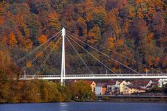 Neckarbrücke bei Zwingenberg (345°)
