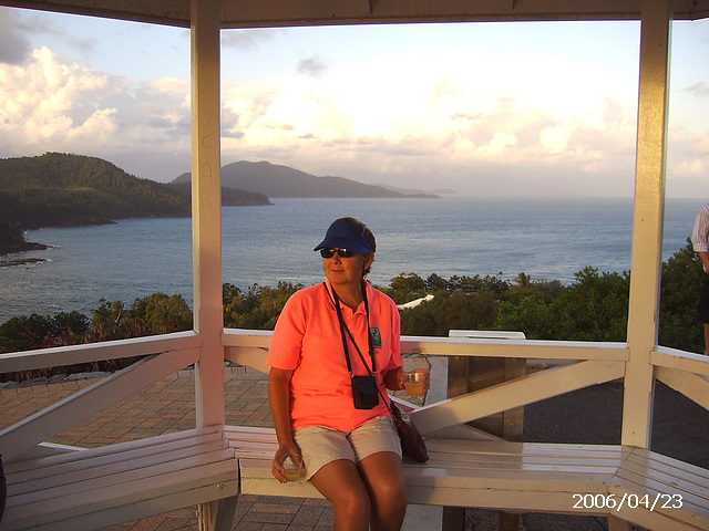 Gill at One Tree Hill, Whitsundays, Queensland, Australia